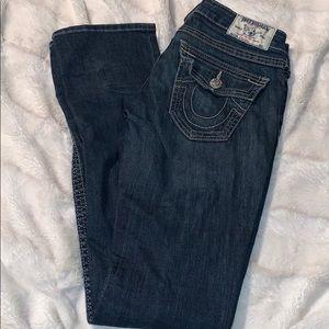 True religion straight cut jeans